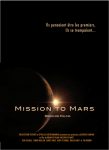 "Affiche ""mission to Mars"""